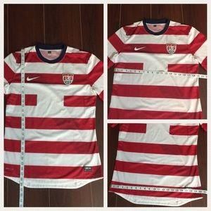 ad083a3e8 Nike Shirts - HP🎉USMNT Nike Waldo 2012 Team USA Soccer Jersey L